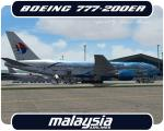 "Posky Boeing 777-200ER Malaysia ""Heliconia - Freedom of Space"" Livery"