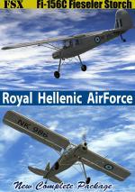FSXA Fieseler Fi-156C RHAF upgrade package