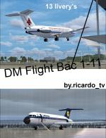 Bac 1-11 Multi Livery Package Updated for FSX