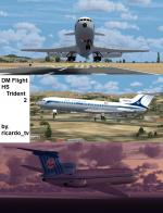 HS Trident 2 Multi Livery Package Updated for FSX