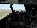 FS2000                   panel: OV-104 Atlantis