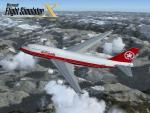 FSX Air Canada c. 1993 Textures for the Boeing 747-400