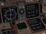 FSX Default B747-400 Modified Virtual Cockpit