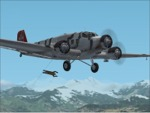 FS2002                   Junkers Ju52 Paratroops Skis & Seaplane Ver 5.0 New version                   package;