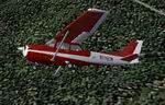 FS2004                   Cessna 172 Red/white textures only
