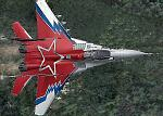 "Demo Mikoyan MiG-29, Codename ""FULCRUM"", Russia special paint"