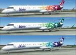 Bombardier CRJ 900 PLUNA 2010 Sets