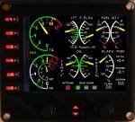 Turboprop engine panel for FIP