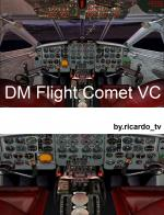 DH Comet 4 Multi Livery Package Updated for FSX