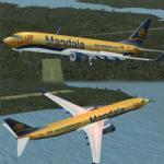 Mandala Air B737-800 Texture