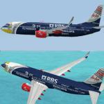 Boeing 737-800 Air Asia Textures