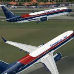 Boeing 737-800 Sriwijaya Air SJ PK-CJH Textures