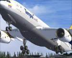 A330 200 Freighter Tampa Cargo Colombia Textures