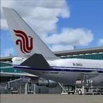 FS2004/FSX Air China Boeing 747SP