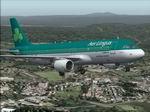 FS2004                   Airbus A320-212 CFM Aer Lingus, registration EI-DEK textures                   only