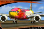 "Boeing 777-200 v2 Continental Airlines edition ""Peter Max"""