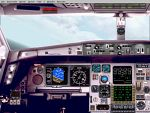 FS2000                   panel for Airbus A-340