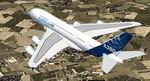 FS2004                   Airbus A380-800 in April 27 2005 First Flight Livery