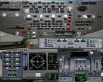 Mc Donnell Douglas MD11 2D panel
