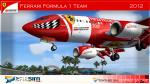 Fs9 Texture iFly 737-700 Ferrari F1 Team 2012 Textures