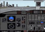 FS98/2000                     Bombardier Challenger 601-3A Panel