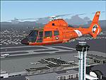 FS2004/2002                   USCG HH-65A DOLPHIN 6562 Los Angeles
