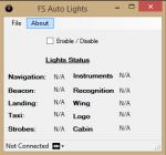 FSX Auto Lights