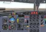 Boeing                   727-200 Advanced Panel for FS2000