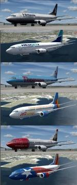 FSX/P3D 3.4 Native Boeing 737-300 Multi Package 2