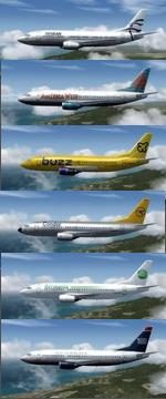 P3D 3 & 4 & FSX Native Boeing 737-300 Multi Package 4