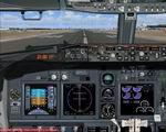 FS2004                   Boeing 737-800 Realistic Panel.