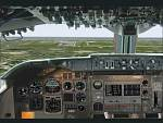 FS2000                   Boeing 747-250 captains view panel