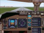 FS2000                   747-400 panel