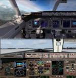 FSX/P3D Boeing 757-200 United Airlines Battleship Grey Package