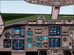 FS2000                   Boeing 767-300ER panel