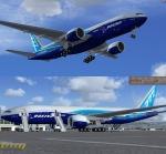 Boeing 777-200LR Worldliner (aka Dreamliner) Livery - N6066Z Package