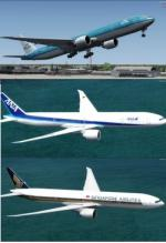 FSX/P3D>4 FSX native Boeing 777-300 Package