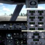 Missing radio gauge for P3D Aircraft