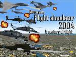 Flight Simulator 2004 Military Splash Screen