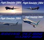 FS2004                     Boeing 7e7 (787) Splashscreens Pack.
