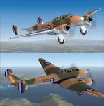 SX   Potez- Po63 Hellenic Airforce 1940 Package with 2 Liveries.
