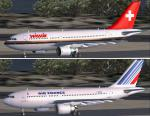 FSX/P3D Airbus A310-200 Twin Pack