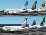 FS2002                   A319-112 FRONTIER Six Livery Package