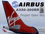 FS2004                    Project Opensky - Airbus A330-200RR Virgin Atlantic