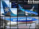 FS2004                   Airbus A330-200 Air Tahiti RR Engines.