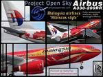 FS2004                   A330-200 RR Malaysian.