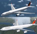 FSX A330-300/A340-300 Philippine Airlines Textures