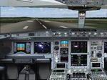 FS2004                   Airbus A 340 Panel.