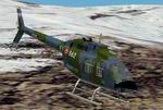 FS2002                   Agusta-Bell AB206 A-1 in Italian Army - Air Cavalry