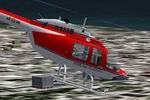 FS2002                   Agusta-Bell AB206 A1 in Italian FireBrigade Air Service livery